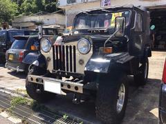 沖縄の中古車 三菱 ジープ 車両価格 38万円 リ済込 平成4年 8.9万K ブラックM