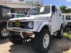 沖縄の中古車 スズキ ジムニー 車両価格 9.8万円 リ済込 平成4年 10.9万K スペリアホワイト