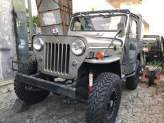 沖縄の中古車 三菱 ジープ 車両価格 ASK リ済込 昭和52年 8.9万K グレーM