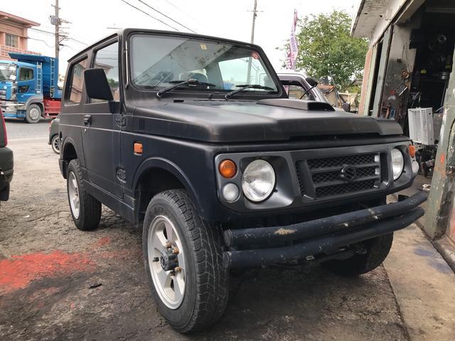 沖縄の中古車 スズキ ジムニー 車両価格 ASK リ済別 1997(平成9)年 11.0万km ブラック