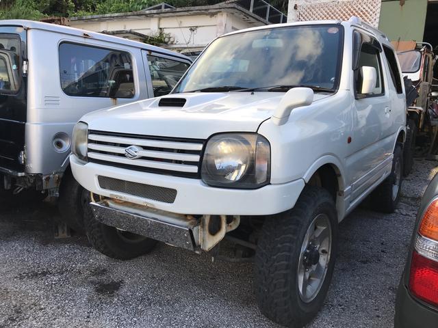 沖縄の中古車 スズキ ジムニー 車両価格 ASK リ済別 2002(平成14)年 19.1万km パールホワイト2II