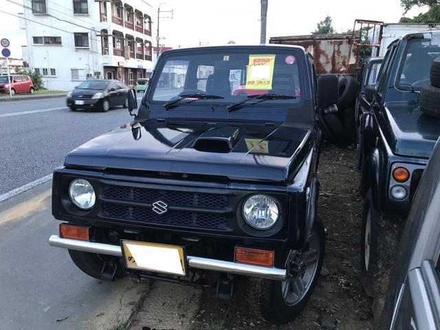 沖縄県の中古車ならジムニー HC 社外バンパー