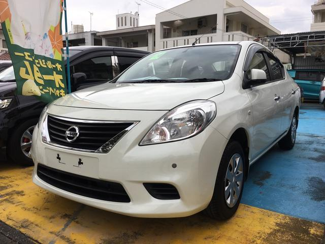 沖縄の中古車 日産 ラティオ 車両価格 68万円 リ済込 平成24年 4.2万km ホワイト
