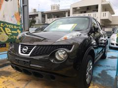 沖縄の中古車 日産 ジューク 車両価格 89万円 リ済込 平成24年 3.4万K メテオライトブラウンM