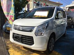 沖縄の中古車 スズキ ワゴンR 車両価格 43万円 リ済込 平成25年 10.3万K スペリアホワイト