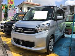 沖縄の中古車 三菱 eKスペース 車両価格 69万円 リ済込 平成26年 9.5万K クールシルバーメタリック