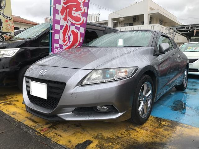 沖縄の中古車 ホンダ CR-Z 車両価格 78万円 リ済込 平成22年 8.6万km ダークピューターメタリック