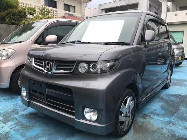 沖縄県の中古車ならゼストスパーク W TV ナビ 軽自動車 ETC 車検整備付