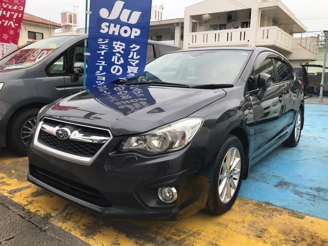 沖縄の中古車 スバル インプレッサスポーツ 車両価格 78万円 リ済込 2011(平成23)年 5.9万km ブラック