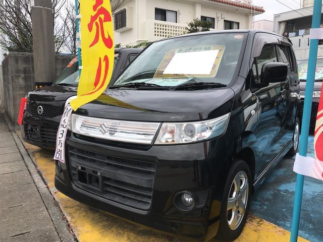 沖縄県の中古車ならワゴンRスティングレー X ナビ ワンセグTV