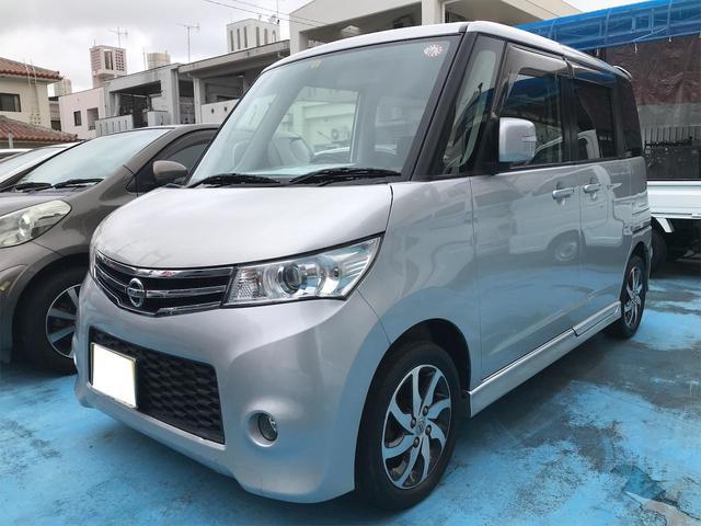 沖縄の中古車 日産 ルークス 車両価格 49万円 リ済込 2011(平成23)年 8.2万km シルキーシルバーM