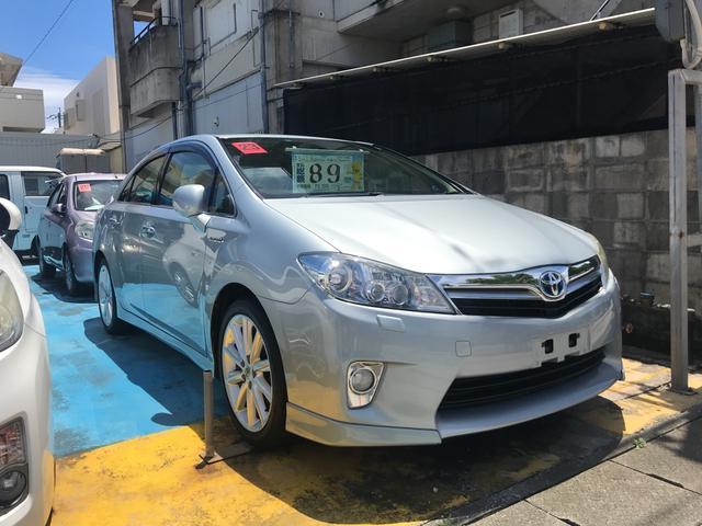 沖縄の中古車 トヨタ SAI 車両価格 69万円 リ済込 2011(平成23)年 6.5万km シルバー