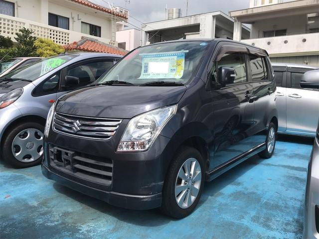 沖縄県の中古車ならワゴンR FXリミテッド エアロ CD ETC Wエアバック パワーステアリング ABS 純正アルミ