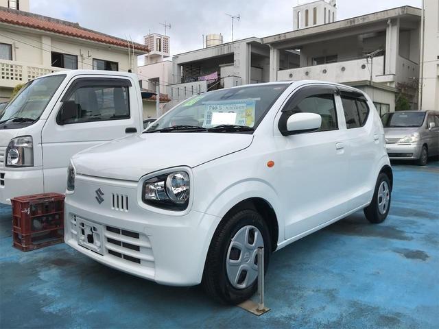 沖縄の中古車 スズキ アルト 車両価格 37万円 リ済込 2015(平成27)年 8.6万km ホワイト