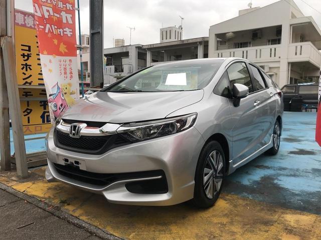 沖縄の中古車 ホンダ シャトル 車両価格 69万円 リ済込 2015(平成27)年 9.7万km シルバー