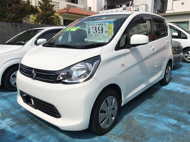 沖縄の中古車 三菱 eKワゴン 車両価格 33万円 リ済込 2013(平成25)年 8.0万km ホワイト