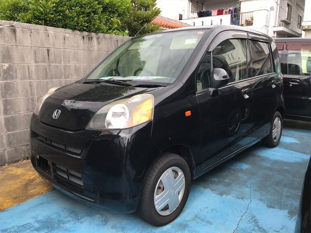 沖縄の中古車 ホンダ ライフ 車両価格 19万円 リ済込 2009(平成21)年 10.5万km ブラック