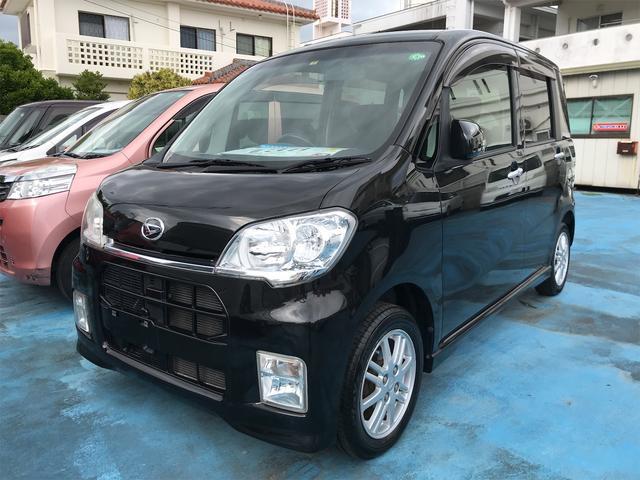 沖縄の中古車 ダイハツ タントエグゼ 車両価格 32万円 リ済込 2010(平成22)年 7.9万km ブラック