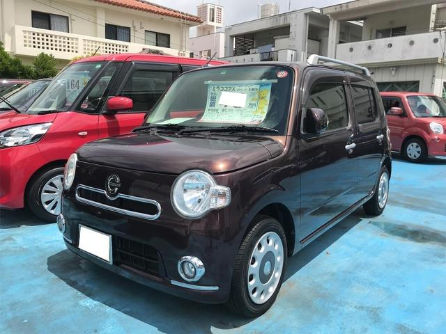 沖縄の中古車 ダイハツ ミラココア 車両価格 45万円 リ済込 2012(平成24)年 9.0万km ブラウン