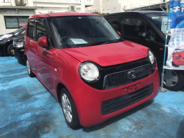沖縄の中古車 ホンダ N-ONE 車両価格 53万円 リ済込 2012(平成24)年 8.4万km レッド