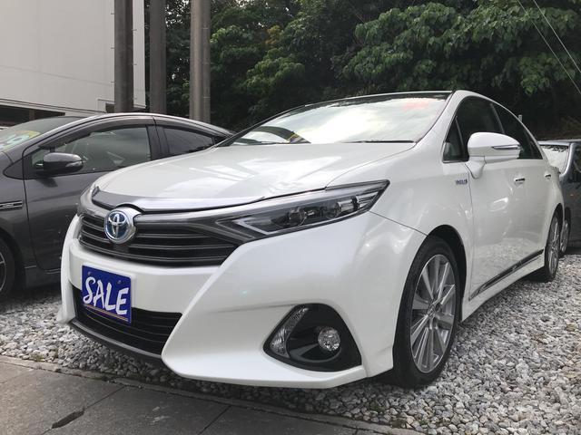 沖縄の中古車 トヨタ SAI 車両価格 162万円 リ済別 平成25年 7.8万km ホワイトパールクリスタルシャイン