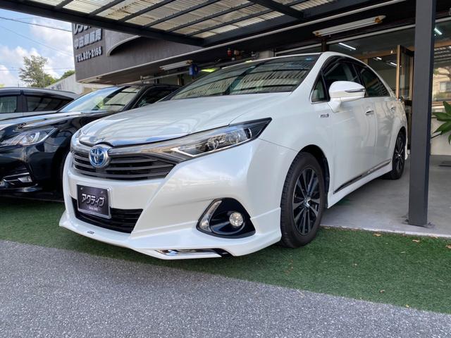 トヨタ SAI G モデリスタスポイラー・純正オープンナビ