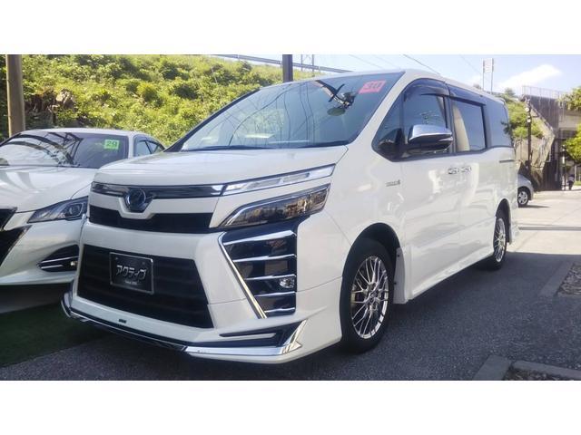 沖縄県の中古車ならヴォクシー ハイブリッドZS 煌 モデリスタ・ワイドナビ・両側Pスライド・安全装備トヨタセーフティーセンス