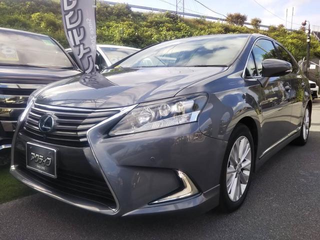 沖縄の中古車 レクサス HS 車両価格 218万円 リ済別 2015(平成27)年 6.5万km グレーM