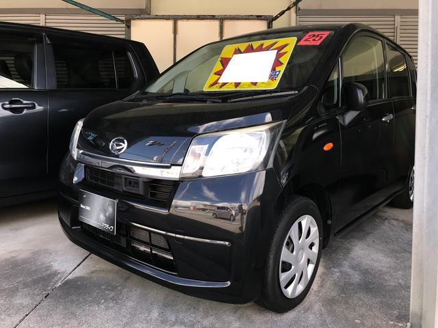 沖縄県の中古車ならムーヴ L SA ナビ・TV・衝突軽減システム・アイドリングストップ・ETC・レザーシートカバー