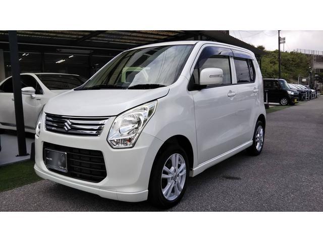 沖縄の中古車 スズキ ワゴンR 車両価格 38万円 リ済別 2012(平成24)年 9.3万km パールホワイト
