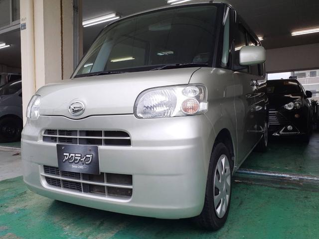 沖縄の中古車 ダイハツ タント 車両価格 39万円 リ済別 2012(平成24)年 9.7万km ゴールドM