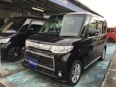 沖縄の中古車 ダイハツ タント 車両価格 59万円 リ済込 平成23後 11.7万K ブラック