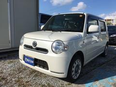 沖縄の中古車 ダイハツ ミラココア 車両価格 49万円 リ済込 平成24年 11.2万K パールホワイト
