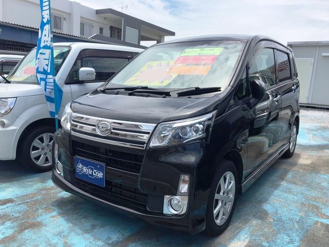 沖縄の中古車 ダイハツ ムーヴ 車両価格 46万円 リ済込 平成25年 13.5万km ブラック