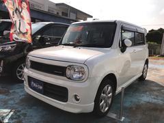 沖縄の中古車 スズキ アルトラパン 車両価格 52万円 リ済込 平成22年 13.5万K パールホワイト