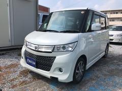 沖縄の中古車 スズキ パレットSW 車両価格 52万円 リ済込 平成23年 13.2万K パールホワイト