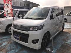沖縄の中古車 スズキ ワゴンRスティングレー 車両価格 49万円 リ済込 平成24年 12.1万K パールホワイト