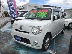 沖縄の中古車 ダイハツ ミラココア 車両価格 39万円 リ済込 平成21年 13.3万K パールホワイト