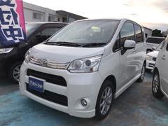 沖縄の中古車 ダイハツ ムーヴ 車両価格 49万円 リ済込 平成23年 11.3万K パールホワイト