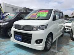 沖縄の中古車 スズキ ワゴンRスティングレー 車両価格 46万円 リ済込 平成23年 10.6万K パールホワイト