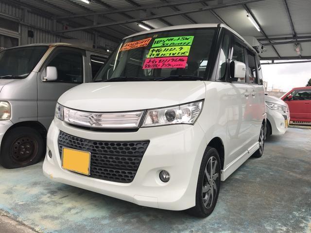 沖縄の中古車 スズキ パレットSW 車両価格 54万円 リ済込 平成23年 12.2万km パールホワイト