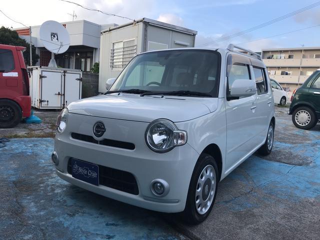 沖縄の中古車 ダイハツ ミラココア 車両価格 39万円 リ済込 平成21年 12.6万km パールホワイト