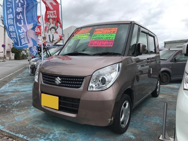 沖縄の中古車 スズキ パレット 車両価格 48万円 リ済込 平成24年 10.2万km ブラウンM