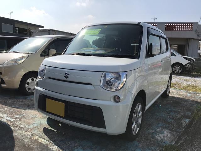 沖縄の中古車 スズキ MRワゴン 車両価格 42万円 リ済込 平成24年 9.6万km パールホワイト