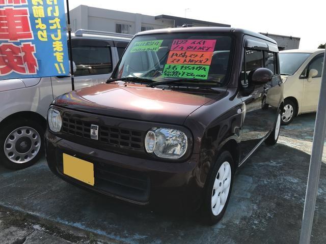 沖縄の中古車 スズキ アルトラパン 車両価格 29万円 リ済込 平成22年 13.5万km ブラウン