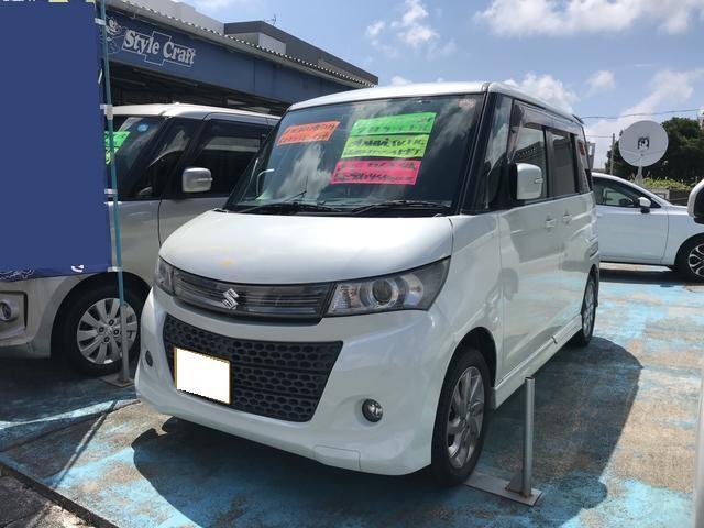 沖縄の中古車 スズキ パレットSW 車両価格 46万円 リ済込 2012(平成24)年 13.6万km パールホワイト