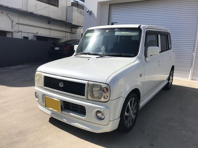 沖縄県の中古車ならアルトラパン ターボ 現状販売
