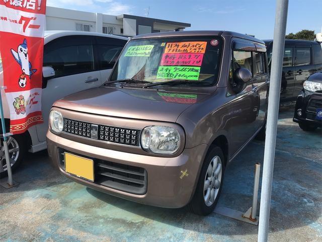沖縄の中古車 スズキ アルトラパン 車両価格 41万円 リ済込 2012(平成24)年 9.6万km ブラウンM