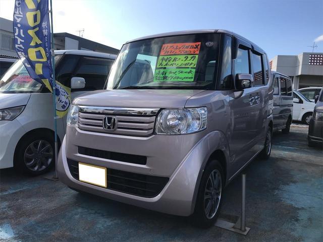 沖縄の中古車 ホンダ N-BOX 車両価格 59万円 リ済込 2013(平成25)年 10.2万km ピンク