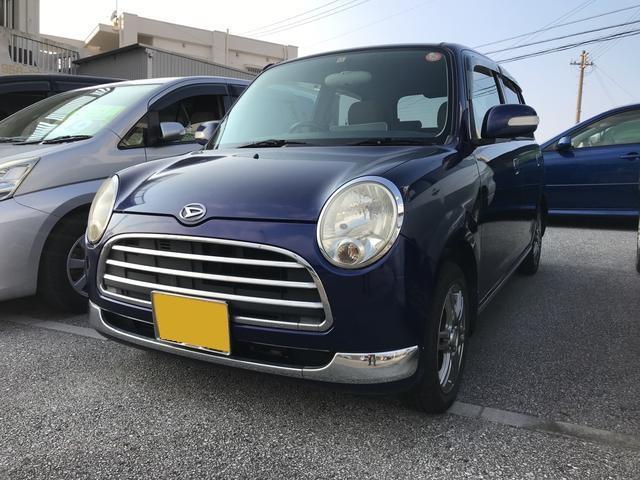 沖縄の中古車 ダイハツ ミラジーノ 車両価格 22万円 リ済込 平成18年 11.8万km ダークブルーM